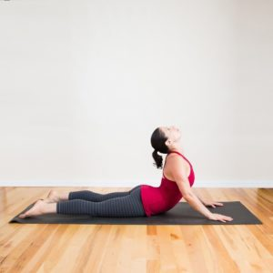 Yoga poses for sciatica pain. Cobra Pose