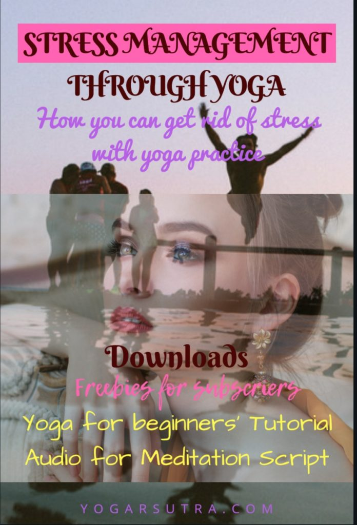 Here you'll find a Revolutionary System of stress management through yoga. These yoga poses will rejuvenate your body and soul and add up the happiness potion in your life.