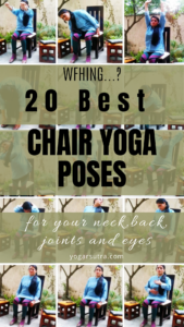 Chair Yoga Sequence For Neck, Back, And Joints #