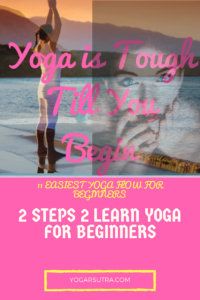 2 steps 2 learn yoga on International Yoga Day. Yoga for Beginners Series-I