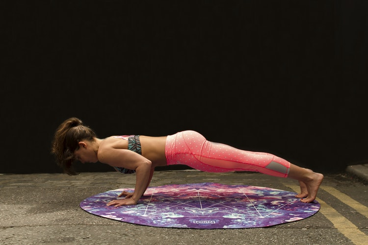 The Plank Pose, For Back pain yoga cure series