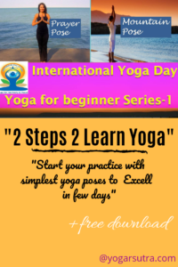 In this yoga for beginners series-1 you will learn two most basic poses #PrayerPose and #Raised Hand Pose. #Internationalyogaday