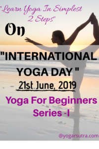 In this yoga for beginners series-1 you will learn two most basic poses #PrayerPose and #Raised Hand Pose
