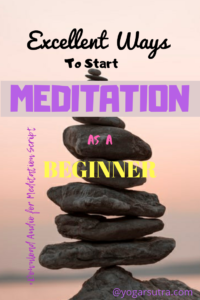 Here you will get a complete guide for MEDITATION FOR BEGINNERS. Knowing that how a daily dose of #meditation can contribute towards yours physical and mental #well-being, take some time to include #daily meditation and yoga in your life.