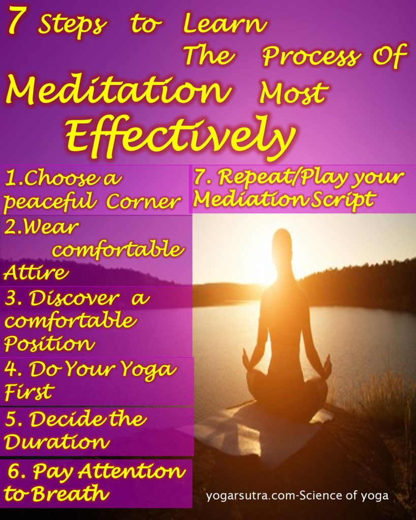Meditation for beginners, Learn in simple steps to start your meditation practice today. This is the best way to overcome your stress. Find the ever-soothing meditation script here!