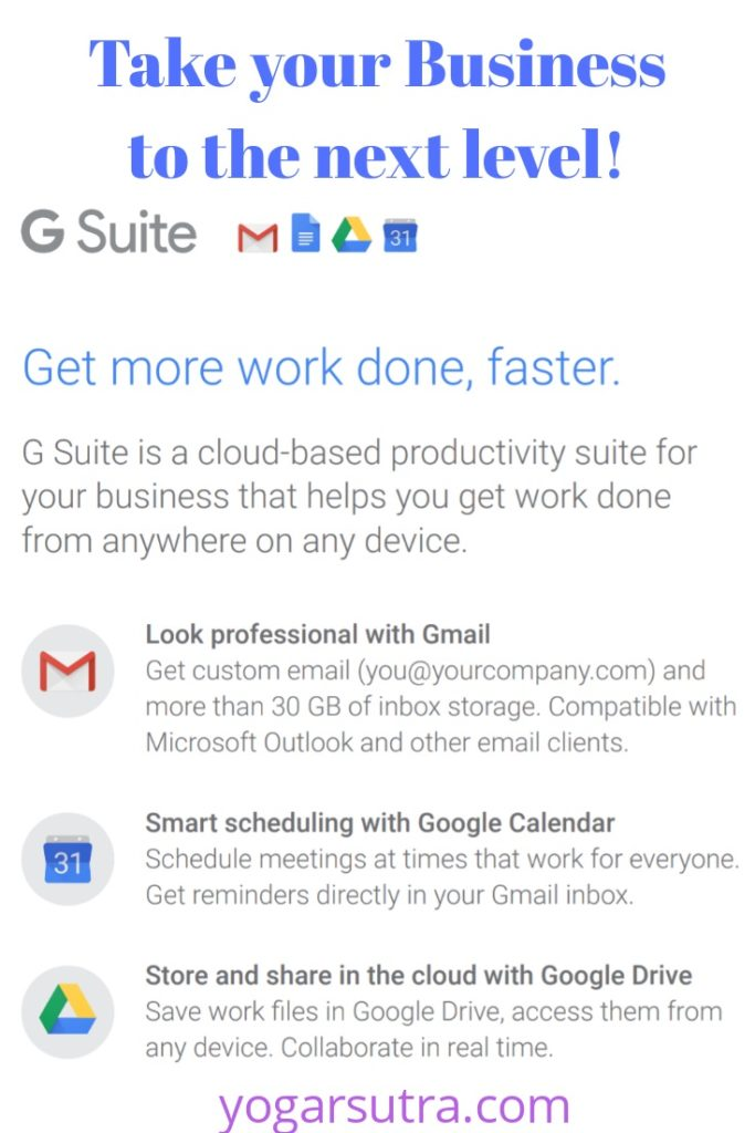 Never Miss Your Important Data, Business Meetings for Not Owing G-Suite- Advantages Of G-Suite For Business