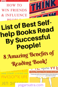 Benefits of reading a Book. Find here a list of the best ever #self help books. The successful people read them to skyrocket their # productivity!