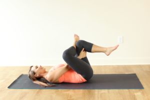 Yoga poses to cure sciatica pain. ANKLE OVER KNEE