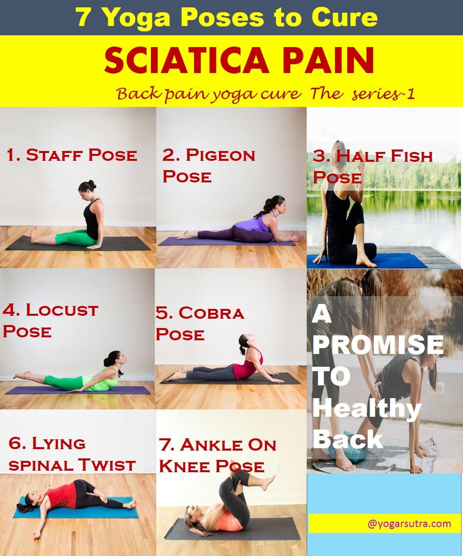 Yoga Poses Good For Sciatica