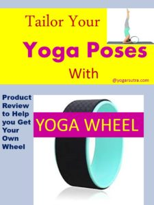 7 yoga poses you can do with yoga wheel: Yoga wheel is a fun to use prop. Learn here how to support your #yogaposes with #yogawheel. +Product Review