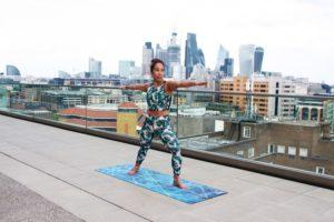 warrior pose, yoga poses for fibromyalgia