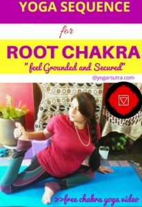 Video- Root Chakra yoga Sequence