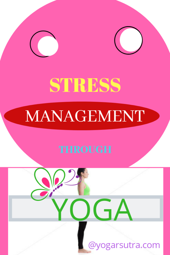 Here you will learn The most proven techniques of stress management through yoga. #yogaposes #stress management #essential oils for stress management