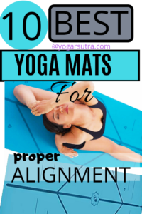 10 Best yoga mats of year 2019. You will find here the most #Eco-friendly, #absorbent, and portable #yoga-mats. Reviews and comparison #portable yoga mat for alignment