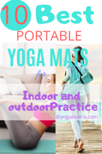 10 Best yoga mats of year 2019. You will find here the most #Eco-friendly, #absorbent, and portable #yoga-mats. Reviews and comparison #portable yoga mat