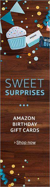 Amazon birthday gift card