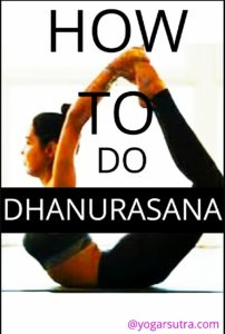 How to do #Dhanurasana or #Bow Pose. Its benefits, contradictions