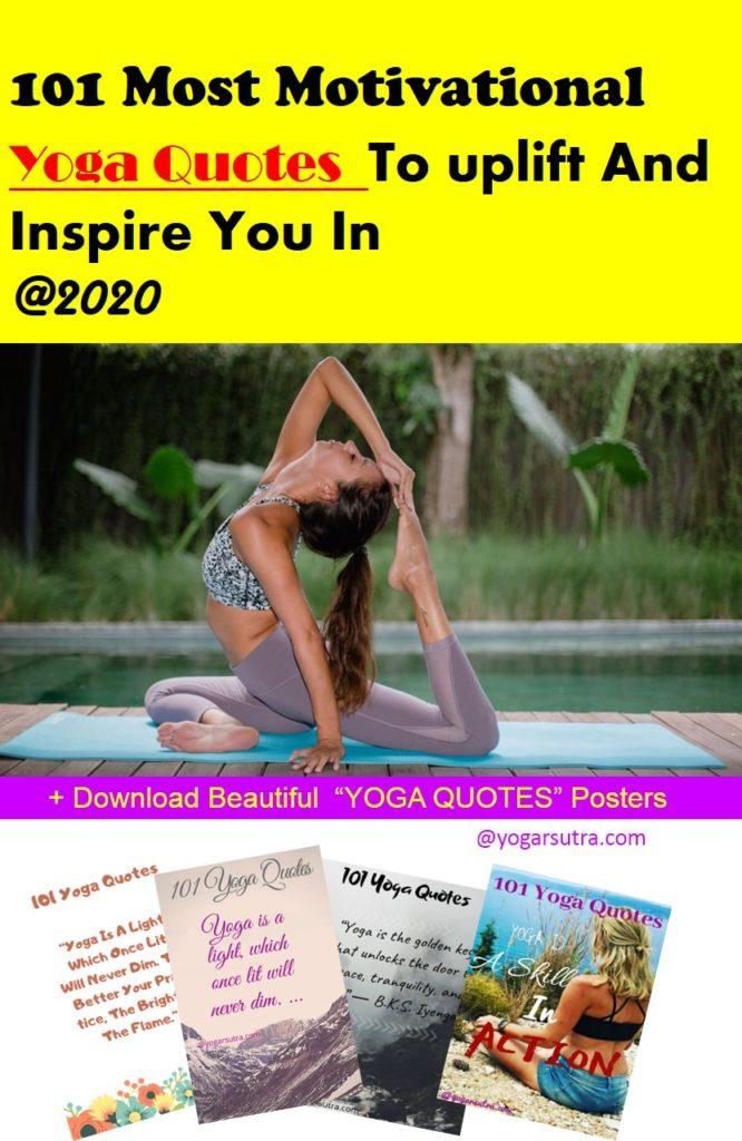 Motivational yoga quotes. #inspirational #yogaquotes