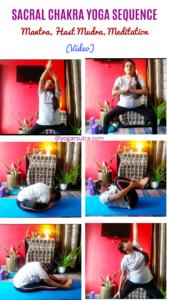 Sacral Chakra Yoga Sequence video #swadhisthana #ushas Mudra