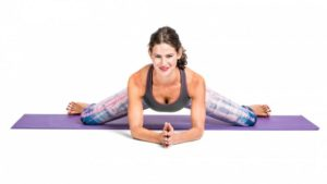Frog Pose- A yoga pose to unblock the Sacral Chakra, boost fertility and sexuality.
