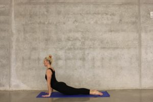 Bhujangasana aka Cobra Pose- A yoga pose to unblock the Sacral Chakra.
