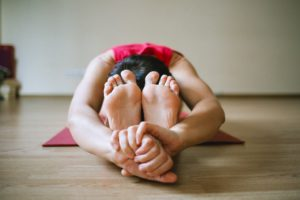 Pashchimottasana- A yoga pose to unblock the Sacral Chakra.