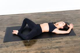 Recline bound angle pose- A yoga pose to unblock the Sacral Chakra.