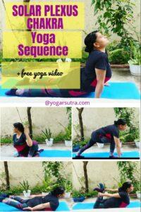 Solar plexus Chakra yoga sequence, Manipura Yoga Poses