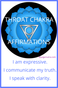 49 Powerful chakra balancing affirmations to thrive in your life. #Throat Chakra