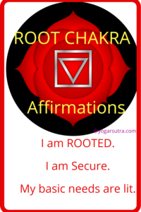 49 Powerful chakra balancing affirmations to thrive in your life. #Root Chakra