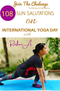 108 sun salutations challenge on international day of yoga