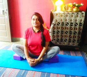 Butterfly or bound Angle Yoga Pose