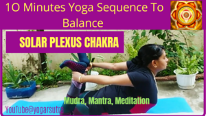 Solar plexus yoga sequence video