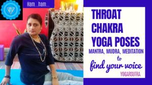 Throat Chakra yoga sequence video thumbnail.