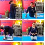 Throat Chakra yoga sequence YouTube video, Vishuddha mudra