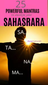 Sa...Ta...Na...Ma... Powerful Mantras to awaken your Crown Chakra #sahasrara_mantra #crown_chakra_meditation