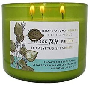 Aromatherapy candles for holiday gift