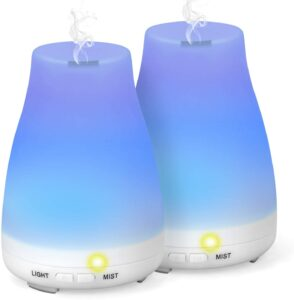Essential oil diffuser, holiday gift for Yogis