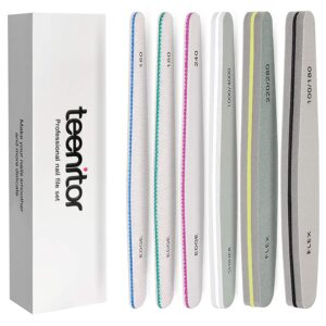 Nail file set to manicure at home can be an excellent gift idea.
