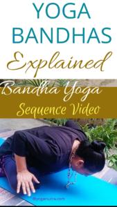 How to do yoga bandhas and benefits of yoga bandhas