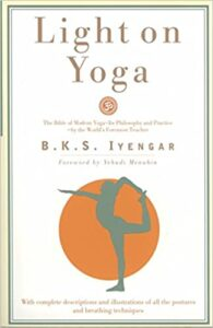 Book light on yoga by b k s Iyengar