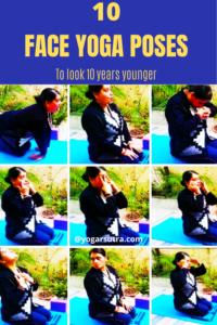 Face yoga for face lift yoga poses