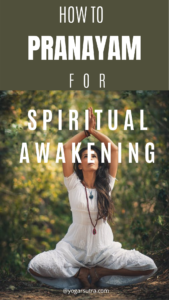 Pranayama for spiritual awakening and manifesting