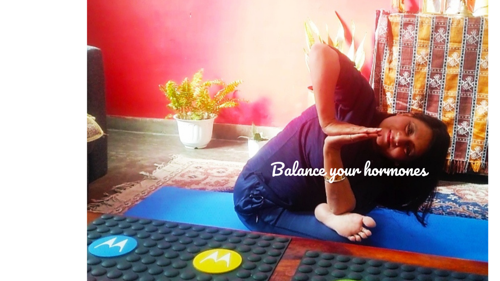 Featured image for yoga therapy for hormonal balances