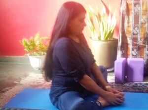 Butterfly pose can balance your hormones