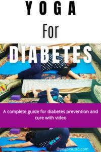 Yogic kriyas for diabetes prevention