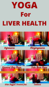 Yoga for liver health get relief from fatty liver and liver cirrhosis.
