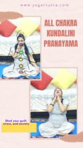 Chakra balancing kundalini Pranayam for stress relief and insomnia