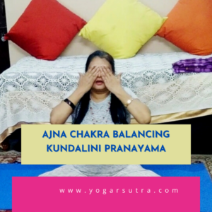 Chakra balancing kundalini Pranayam for Ajna Chakra