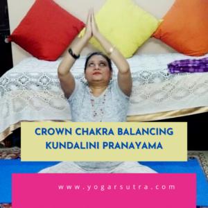 Crown Chakra Pranayama